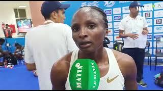 La Kenyane Hellen Obiri la plus rapide de l'année sur le 5.000m