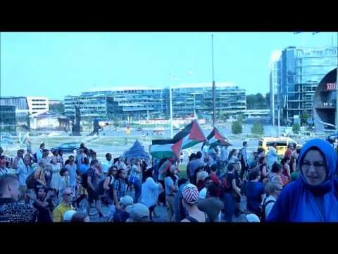 Näpit Irti Gazasta pt. 4 - #FreeGazaDemonstration 2.8.2014 Helsinki, Finland