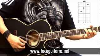 Cómo tocar en la guitarra Vivir sin aire - Maná