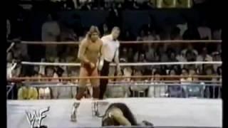 Sam Houston in action Wrestling Challenge Nov 1st 1987