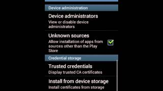 How to install aptoid android