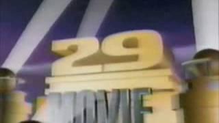 """WTXF """"Fox 29 Movie"""" intro - 1990"""