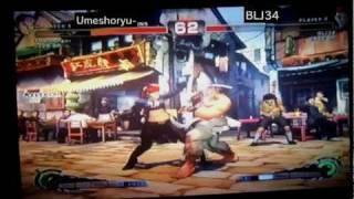 Umeshoryu--ryu vs BLJ34-viper