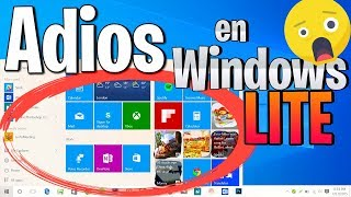 Windows Lite MAS RAPIDO ⚡ / El Mejor Sistema Operativo MiniOS 2019