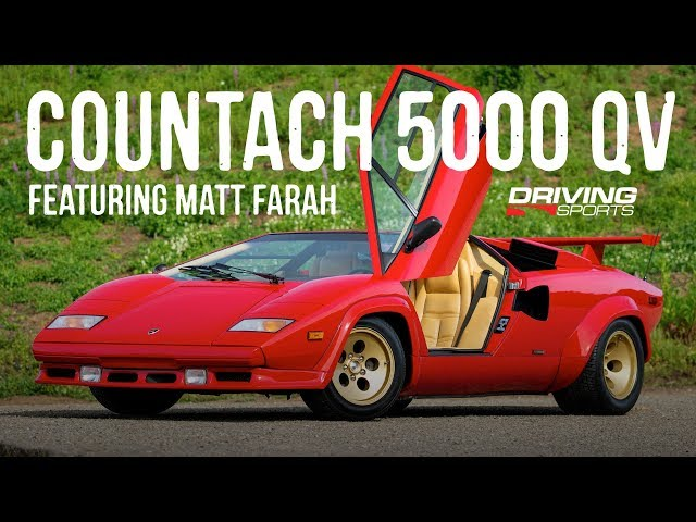 1988 Lamborghini Countach 5000 QV (with Matt Farah)