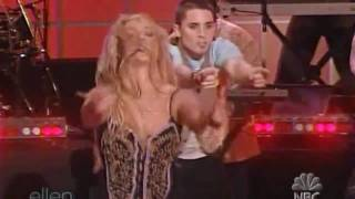 Britney Spears - Toxic (Live At Ellen Show)