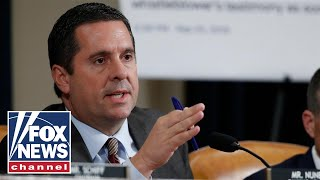 Nunes: Ambassador Sondland, you are here today to be smeared
