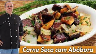 Carne Seca com Abóbora do Chef Taico