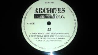 AZ - Your World Don´t Stop (Remix) (Buckwild Prod. 1995)