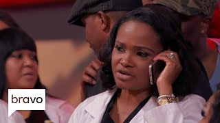 Married To Medicine: Contessa Metcalfe Awkwardly Called Toya Bush-Harris' Party (S6, E2) | Bravo