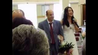 Casamento Denise & Bruno. [Aline Barros - Soube que me amava]