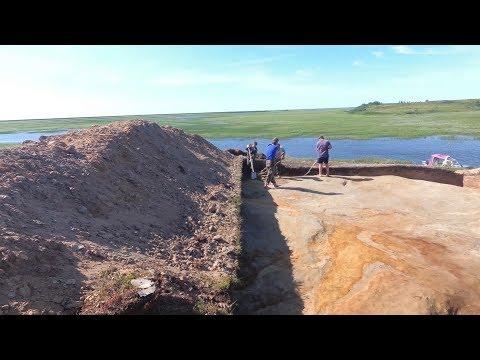 Археологи из Салехарда и Омска проводят на Ямале раскопки древнего поселения