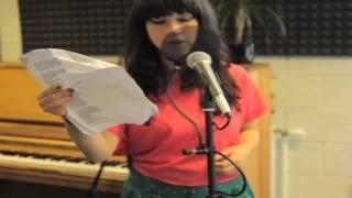 Naughty Boy feat Sam Smith - La La La (acoustic cover by Louise Golbey) Medina Radio  IOW2013