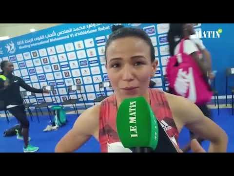 Video : Rabab Arafi se classe 3e sur le 800m et Malika Akkaoui termine 6e