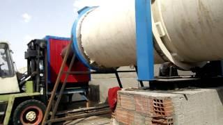 Tunisia  Olive slag pellet production line