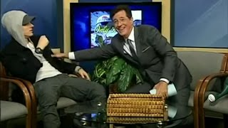 """Eminem to Stephen Colbert: """"This is Really F*cking Weird"""""""