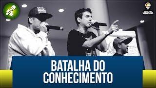 Rap de Improviso na Batalha do Conhecimento - Fabio Brazza