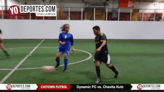 Dynamic FC vs. Chavita Kutz Chitown Futbol Thursday COED League