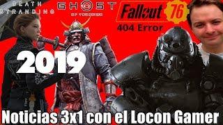 Ghost of Tsushima y DS para el 2019?   Fallout 76 es una burla   David Jaffe dice adiós