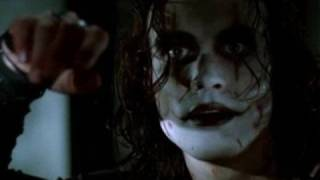THE CROW  THE CURE BURN
