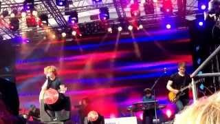 Michael Schulte - Rock and Scissors (live), Kiel 22.06.2014