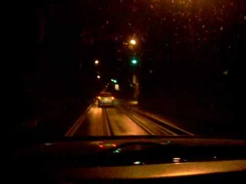 A drive through the Whittier Alaska Tunnel