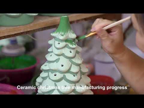 How to make ceramic christmas trees? | Co-Arts Innovation