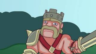 Clash of clans Animation   Raid the village Inferno tower power!   YouTube