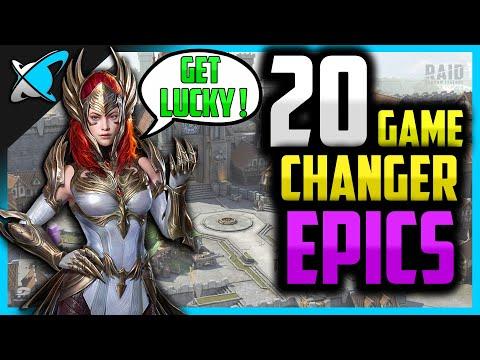 "20 ""GAME CHANGER"" EPICS | Summon them ASAP...LOL !!! | RAID: Shadow Legends"