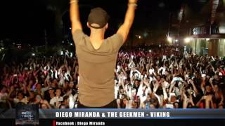 DIEGO MIRANDA & THE GEEKMEN - VIKING -  COMING SOON !