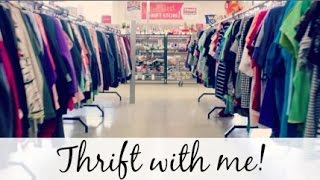 Thrift with me!