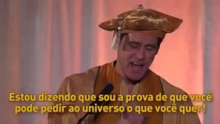 Discurso inspirador do Astro Jim Carrey  (Legendado)