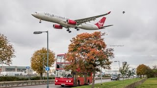 Heathrow Airport time-lapse video