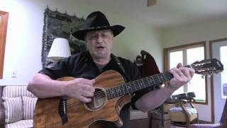 761 - Rhinestone Cowboy - Glen Campbell - acoustic cover by George Possley