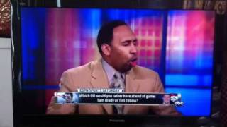 Tebowing with Stephen A. Smith (best rant ever)