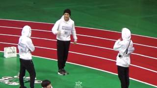 ISAC 2017 BTS JIN, JIMIN & V DANCING TO OLD SONGS
