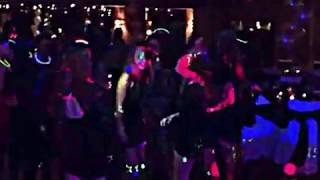 "RGB Text Laser Sweet 16 Party DJ's Jimmy Howes & Greta Latona Kids Singing ""Low"""