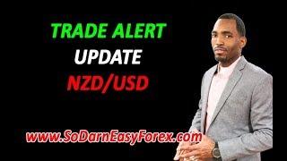 LIVE Trade Alert UPDATE NZDUSD - So Darn Easy Forex