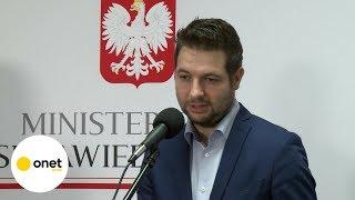 Patryk Jaki: jeśli powstanie CPK, to powstanie szybka kolej | OnetNews