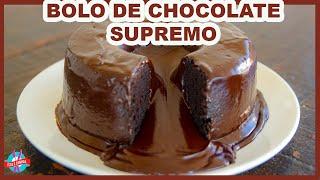 BOLO VULCÃO DE CHOCOLATE SUPREMO
