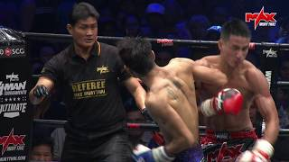 Spinning backelbow KO! (ENG VERSION) The moment that Wang  Knocked Valentine  in Action!!!!