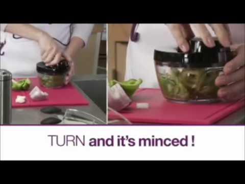 Twisting Vegetable Chopper Pratik Sebze Doğrayıcı - FırsatCity.com