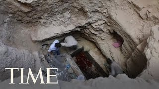 Here's What Archaeologists Found Inside Egypt's Mysterious 2,000-Year-Old Sarcophagus   TIME