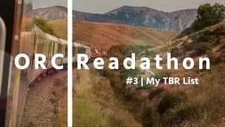 ORCreadathon3 | My TBR List