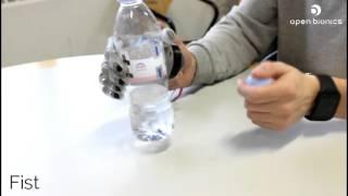 Open Bionics Robotic Hand Object Testing