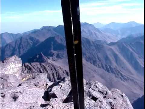 Top of Toubkal