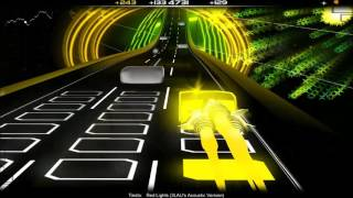 Audiosurf - Tiësto - Red Lights (3LAU's Acoustic Version)