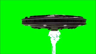 Green Screen UFO Mother Ship Attack