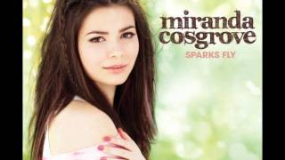 Daydream - Miranda Cosgrove - Sparks Fly (Lyrics HD & HQ)