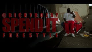 RICK ROSS - SPEND IT FREESTYLE (OFFICIAL VIDEO)